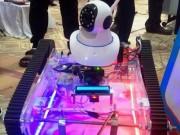 Độc đáo robot tuần tra vỉa hè của ba cậu học trò xứ Huế