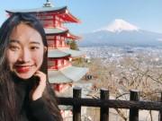 Cô gái Đà Nẵng đi du lịch Nhật Bản 10 ngày hết 40 triệu đồng