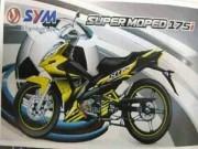 Xe tay côn SYM Super Moped 175i sẽ có giá từ 38,7 triệu đồng