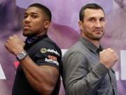 Joshua đấu Klitschko: Ngang tầm Mayweather và Mike Tyson