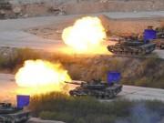 Ảnh: Mỹ-Hàn rầm rộ khoe hỏa lực sát biên giới Triều Tiên