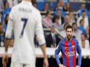 Barca ra đòn với Real: Giá đắt khi gọi Messi  thiểu năng