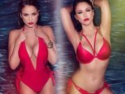 """Thời trang - Mỹ nữ Anh Quốc sở hữu """"body"""" hấp dẫn đến """"ngạt thở"""""""