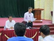 Tin tức trong ngày - Hà Nội thay phó trưởng đoàn thanh tra đất đai Đồng Tâm