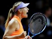 """Thể thao - Thắng trận tái xuất, Sharapova vẫn bị gọi là """"kẻ lừa dối"""""""