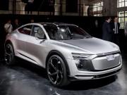 """Audi E-Tron Sportback:  """" Anh em """"  của Lamborghini Urus"""