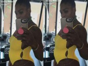 Liều lĩnh như bà bầu Serena: Đánh cược sinh mạng