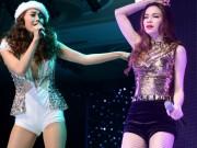 Ca nhạc - MTV - Minh Hằng, Hà Hồ lần đầu hát chung sân khấu sau ồn ào chèn ép