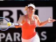 Thể thao - Sharapova - Makarova: Tan nát trong set 2 (V2 Stuttgart Open)