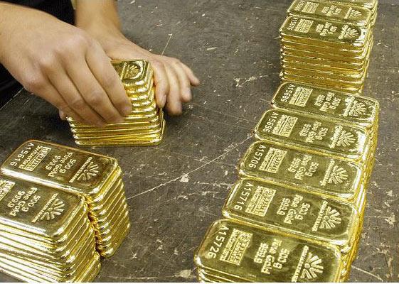 Giá vàng hôm nay 28/4/2017: Vàng đi ngang sau khi xuyên thủng đáy - 1