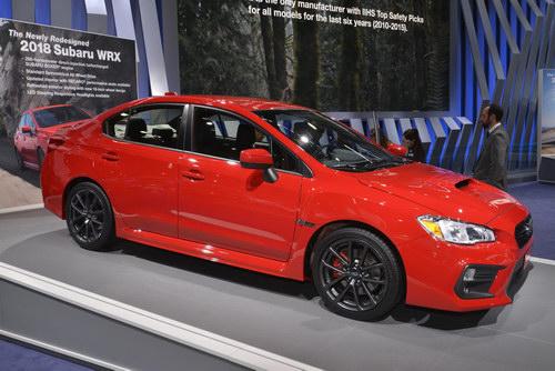 Subaru WRX và WRX STI 2018 giá cao nhất 820 triệu đồng