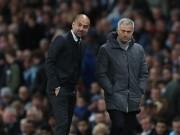 Bóng đá - Cảm xúc Pep - Mourinho: Người mừng hụt, kẻ nấc cụt