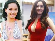"""Làm đẹp - Kiều nữ Việt gây khó hiểu vì vòng 1 """"phổng phao"""" bất thường"""