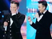 Dương Triệu Vũ trao nhẫn cho Mr. Đàm trước hàng trăm khán giả