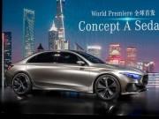 Ô tô - Mercedes Concept A Sedan: Phiên bản sedan mới của A-Class