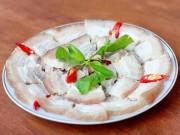 Ẩm thực - Bật mí mẹo luộc thịt lợn mềm ngọt, không bị khô