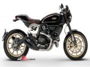 Thế giới xe - Bí mật của 2017 Ducati Scrambler Cafe Racer sắp về Việt Nam