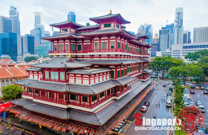 Choáng ngợp ngôi chùa 75 triệu USD lộng lẫy giữa quốc đảo Singapore-1