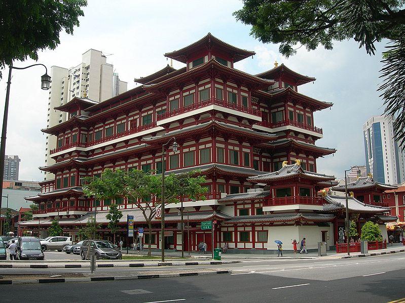 Choáng ngợp ngôi chùa 75 triệu USD lộng lẫy giữa quốc đảo Singapore-2