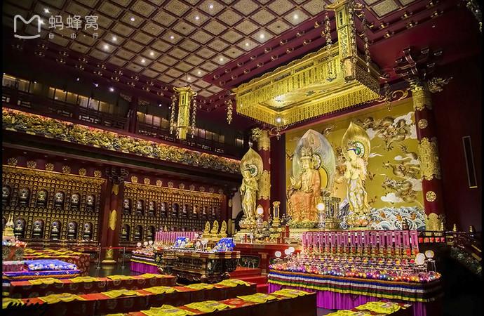 Choáng ngợp ngôi chùa 75 triệu USD lộng lẫy giữa quốc đảo Singapore-5