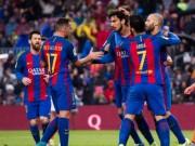 """Barca 6 mùa Liga ghi 100 bàn: Thói quen  """" hủy diệt """""""