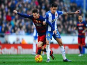 """Bóng đá - Espanyol – Barcelona: Bay trên """"đôi cánh"""" Messi"""