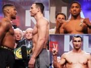 Đại chiến boxing Klitschko - Joshua: Song hùng tranh bá