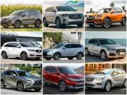 Những mẫu SUV an toàn nhất năm 2017