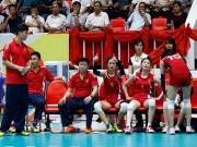 Thể thao - Bóng chuyền: So tài Ngọc Hoa, chân dài Triều Tiên suýt bỏ trận