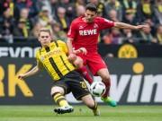 """Dortmund - Cologne: Đụng phải  """" bức tường thép """""""