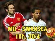 MU - Swansea: Muôn trùng khó khăn ngăn đường vào top 4
