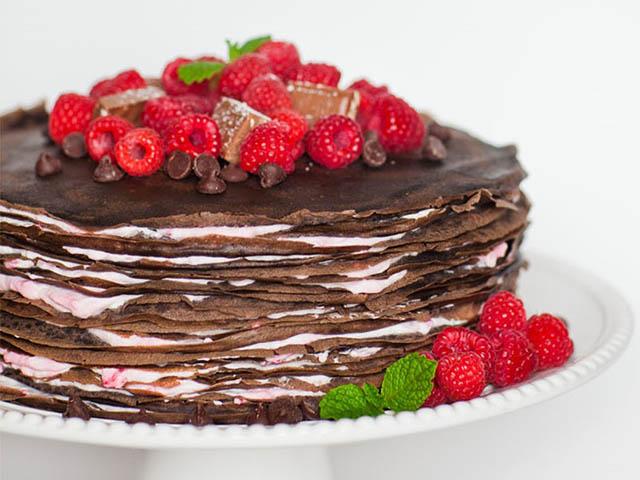 Bánh chocolate nghìn lớp đã ăn là không thể ngừng