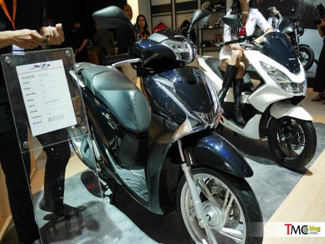 2017 Honda SH150i có ở Việt Nam tới Indonesia giá rẻ hơn