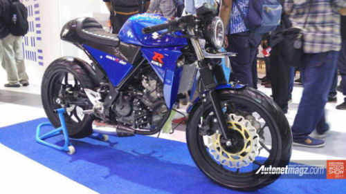 Suzuki GSX-R150 độ café racer cuốn hút dân chơi