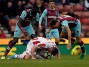 """Bóng đá Ngoại hạng Anh - Stoke – West Ham: Chạm mốc 40 """"thần thánh"""""""