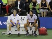 """Thể thao - Federer và Bill Gates bùng nổ ở trận tennis """"tỷ đô"""""""