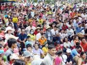 Tin tức trong ngày - Ngàn người đổ xô đi nghỉ lễ, khu vui chơi đông nghẹt thở