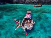 """"""" Điêu đứng """"  trước vẻ đẹp của thiên đường biển xanh Koh Phi Phi"""