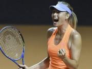 Thể thao - Tin thể thao HOT 30/4: Bị loại, Sharapova vẫn hài lòng