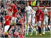 """Bóng đá - Góc chiến thuật MU - Swansea: """"Canh bạc"""" Rooney bất thành"""