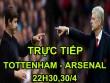 TRỰC TIẾP Tottenham - Arsenal: Nơm nớp lo sợ