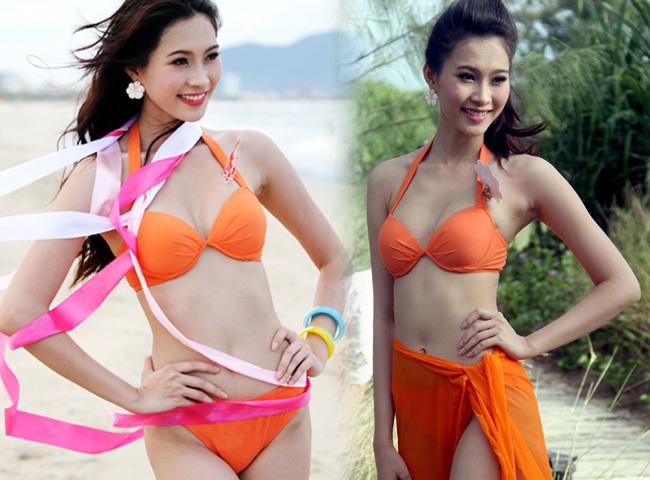 Hoa hậu Thu Thảo tung ảnh bikini hiếm hoi kỳ nghỉ lễ - 8
