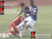 Bóng đá - Luật của AFC khác luật VFF bởi tính nghiêm minh