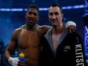 Tin thể thao HOT 1/5: Joshua chia đôi tiền thưởng với Klitschko