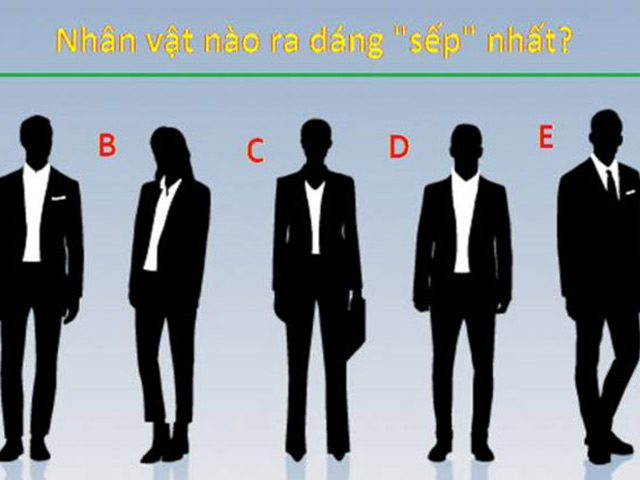 Quiz: Theo bạn ai ra dáng làm sếp nhất?
