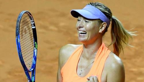 Sharapova sướng như bà hoàng: Ngồi khểnh chờ Roland Garros