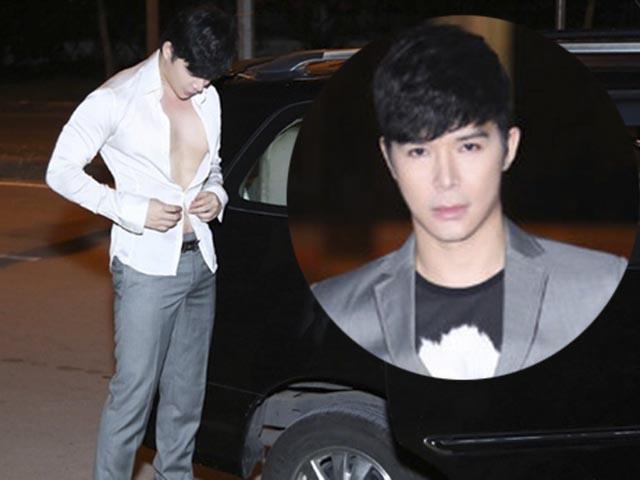 Nathan Lee thay quần áo giữa đường để kịp giờ diễn