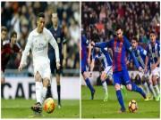 Bóng đá - Sút penalty tệ nhất: Messi cười lại Ronaldo
