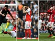 """Bóng đá - Tiêu điểm vòng 35 NHA: Arsenal, Manchester đua """"tự sát"""""""