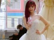 Ca nhạc - MTV - Rò rỉ ảnh Khởi My mặc thử váy cưới đẹp long lanh như nữ thần